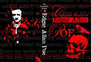 Edgar Allan Poe Book Cover by absapien