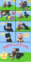 Batman x Bane Kawaii by LoulouVZ