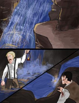 Reichenbach Falls by oOAthenaOo