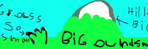 Hill So Big Grass So Small by EvaSharp3D