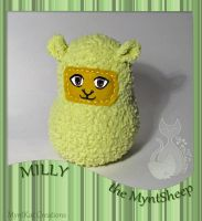 Milly the MyntSheep by MyntKat