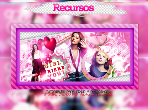 recursos|Girl Friend You by VectoriansTutorials