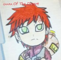 Gaara Of The Desert by EclipseQuest2