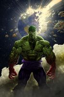 Hulk For Color Battle by KYLE-CHANEY