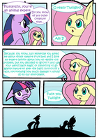 Fluttershy is an animal expert by Kiddysa-NekoVamp