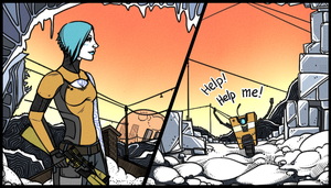 Borderlands 2: Claptrap|Maya by maryallen138