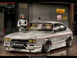 Ford Capri by tuninger