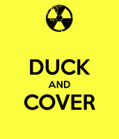 Duck and Cover by tartanninja