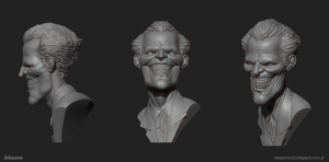 Joker bust by sebazone