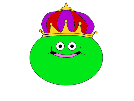 King Cureslime (1st drawn) by fare67t