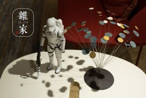 Starwars in shanghai at The Nordic exhibition Home by zajia