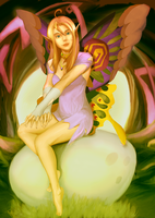 Request Fairy on the Egg by el-fio