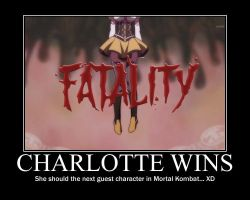 Charlotte wins with Fatality by bogidream