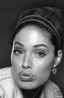 Doutzen Kroes Digital Paint 2 by JoeDieBestie