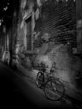 an old bike by djati