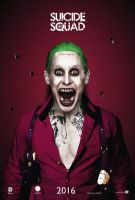 Jared Leto as The Joker #3 - Suicide Squad (2016) by CAMW1N