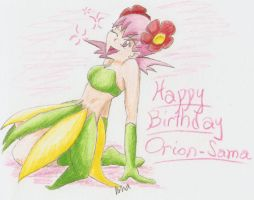 Happy B-day Orion-Sama by Ama-Encyclopika