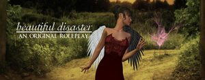 Beautiful Disaster RP Banner by InspiringWolves