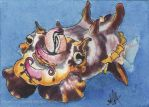 Flamboyant Cuttlefish by changewinds