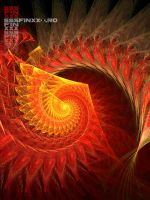 4612 Swirling fire shell by AndreiPavel