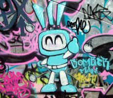bomber man by ample