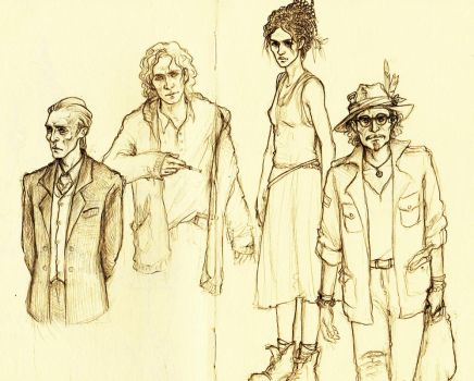 Character sketches (Vurt) by Meisiluosi