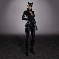 Injustice Catwoman Arkham City by ArmachamCorp