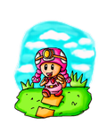 Toadette the explorer by babyblisblink