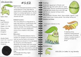 Chikorita Pokemon Guide by pandemoniumfire
