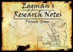 Eggman's Research Notes by Hellody