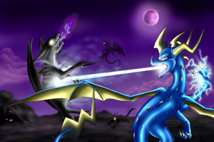 The Phylax Fight by IcelectricSpyro
