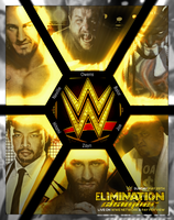 Elimination Chamber 2016 - Fictionnal Poster by r3w3ind