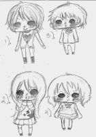 .New.Chibis. by mikachanthebunny