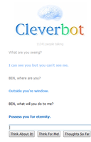 Cleverbot conversation: BEN 2 by xHazzardous