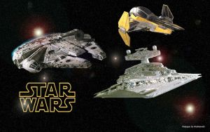 Star Wars Space Wallpaper by webname05