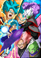 Saga of Black and Zamasu - Poster #2 by SaoDVD