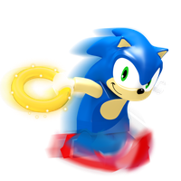Lego Sonic Render by JaysonJean