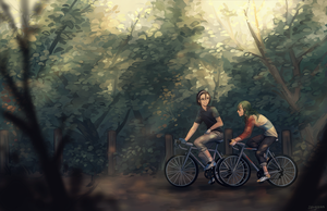 ywpd: casual bike rides by Sangcoon