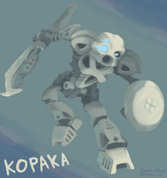 Toa Kopaka by brotoad