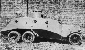 Heavy armored car D-9 by MADMAX6391