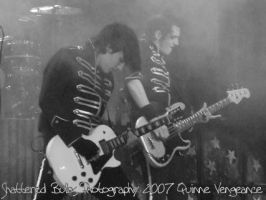 Frank Iero and Mikey Way by synysterxmiss