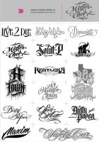 Logo_set by MisterChek