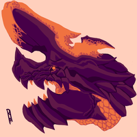 Magma Brachydios by TheMacronian