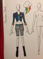 Rainbow Dash Outfit idea by ScenePika