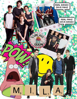 BTR and 5SOS by RusherGapper