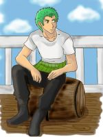 One Piece - Zoro by AngelKite