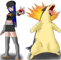Me and My Typhlosion by SilentTalent