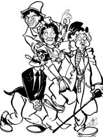 Marx Brothers by Smigliano
