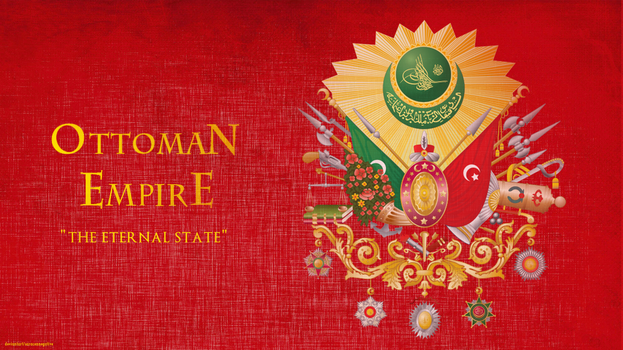 Ottoman Empire Coat Of Arms by saracennegative