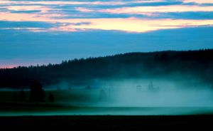 misty morning by KariLiimatainen